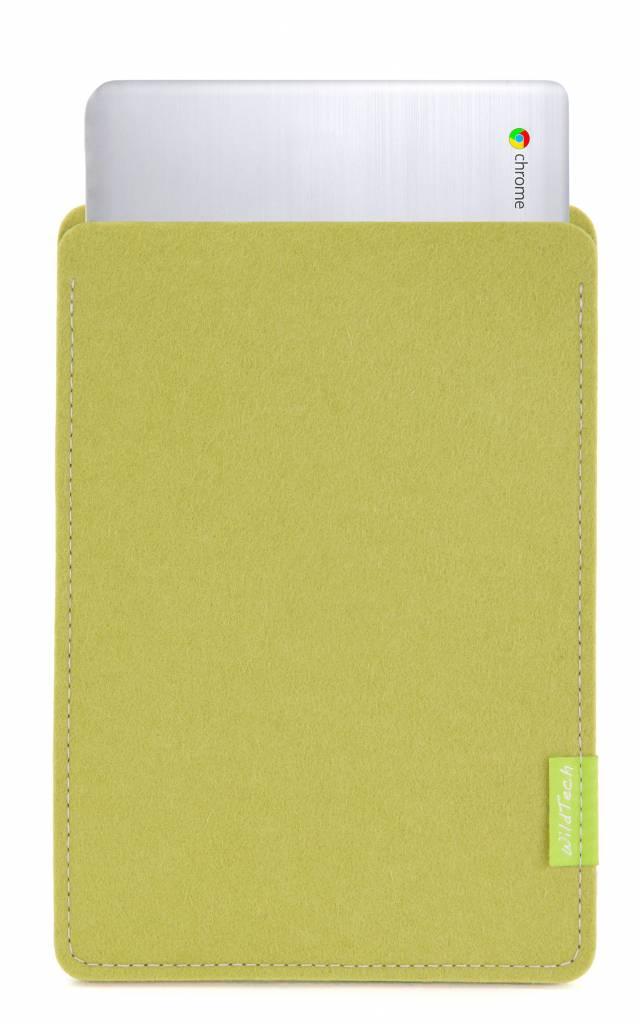 Chromebook Sleeve Lindgrün-1