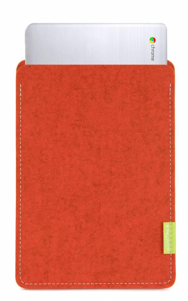 Chromebook Sleeve Rust-1