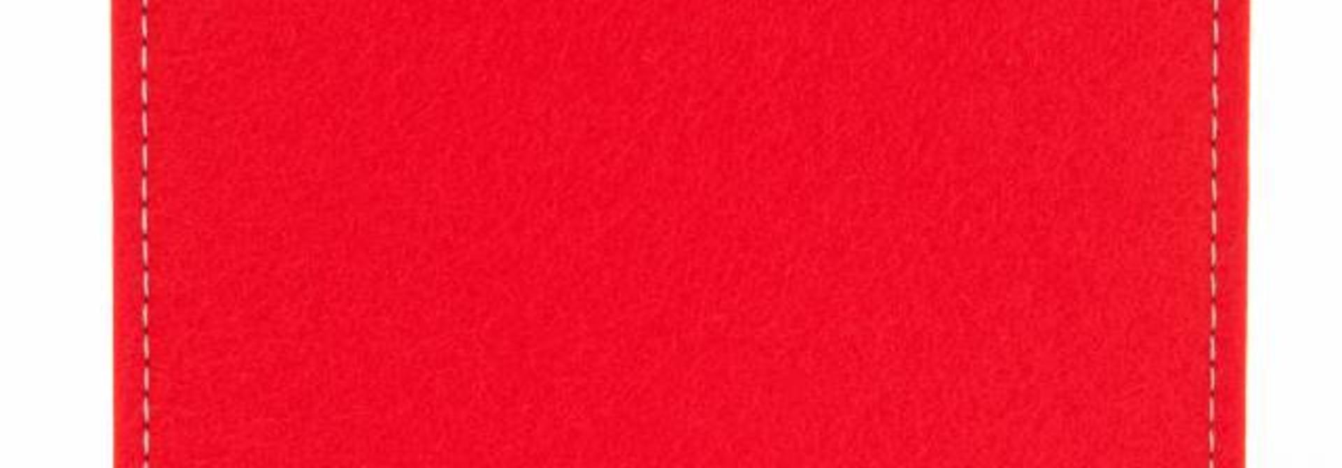 Chromebook Sleeve Bright-Red