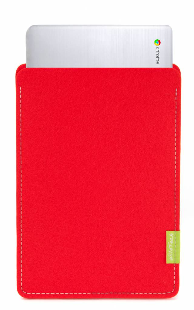 Chromebook Sleeve Bright-Red-1