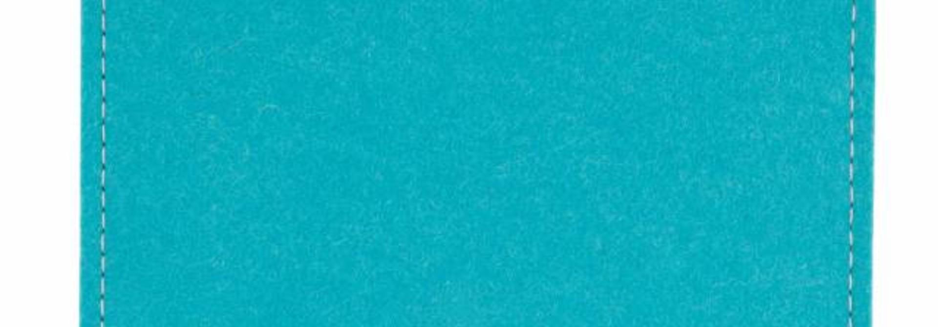 Chromebook Sleeve Türkis