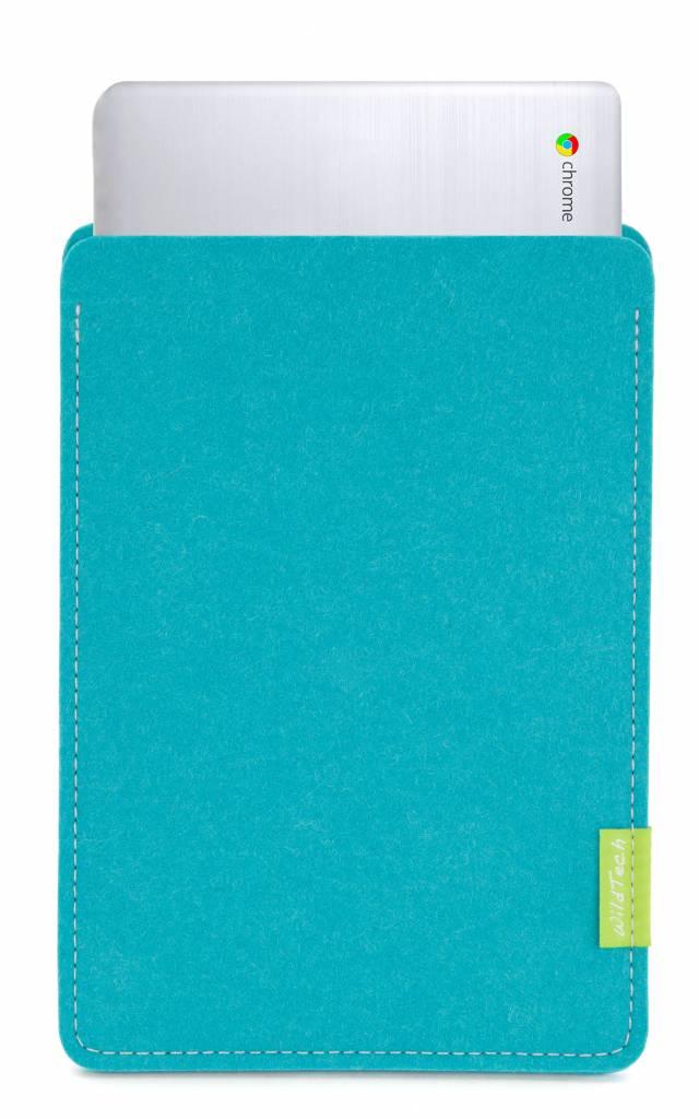 Chromebook Sleeve Turquoise-1