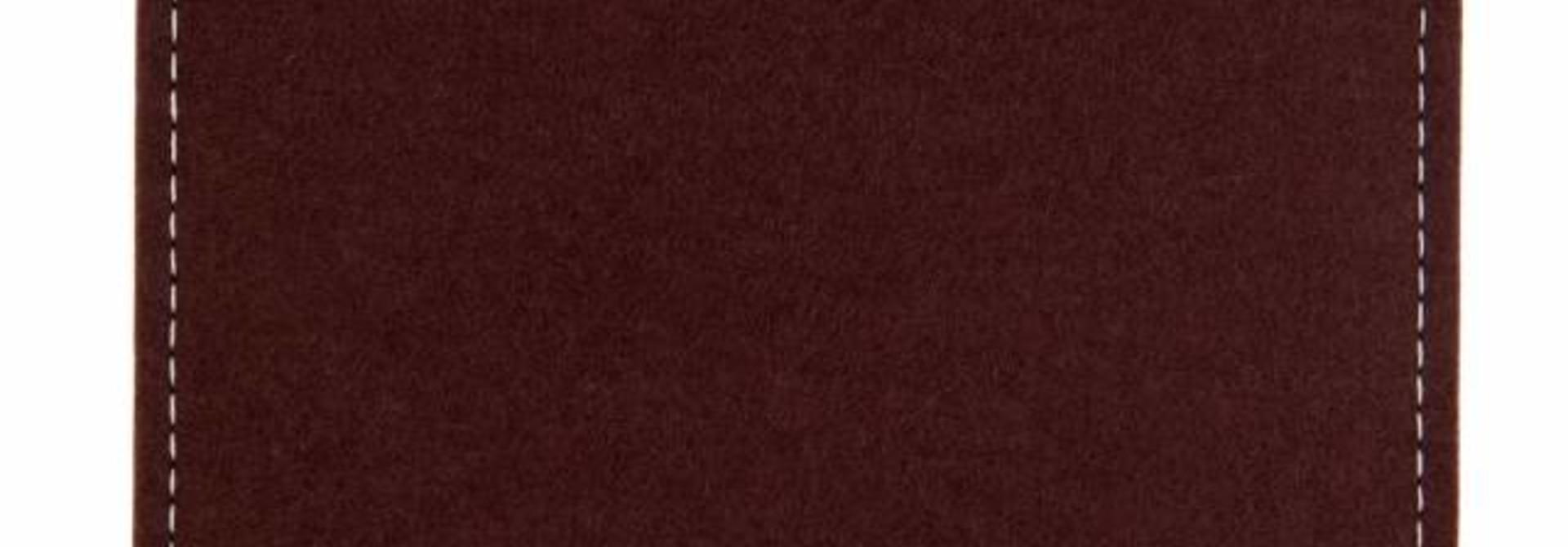 Chromebook Sleeve Dark-Brown