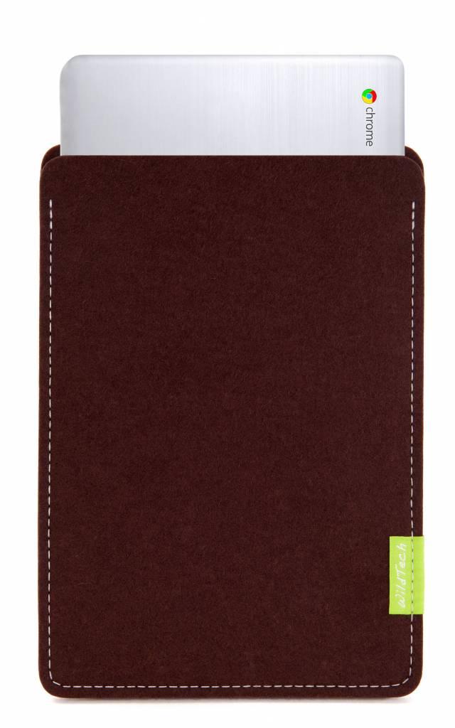 Chromebook Sleeve Dark-Brown-1