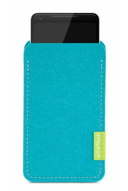 Pixel Sleeve Turquoise