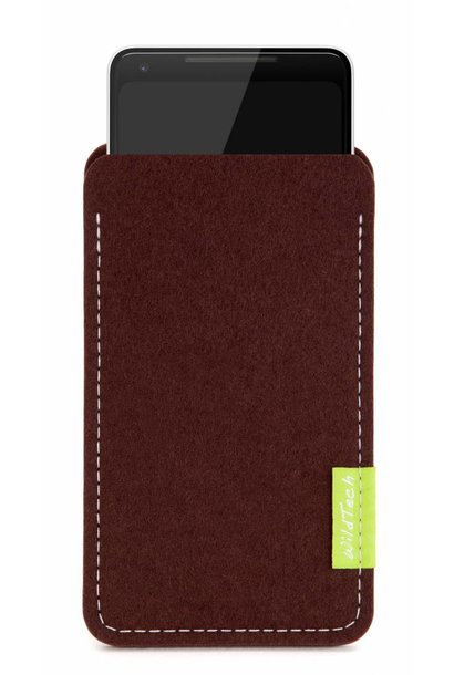 Pixel Sleeve Dark-Brown