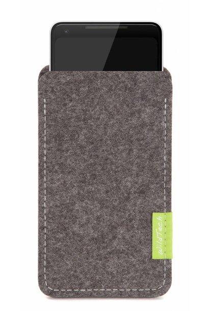 Pixel Sleeve Grau