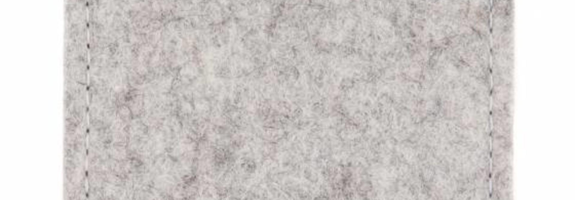 Pixel Sleeve Hellgrau