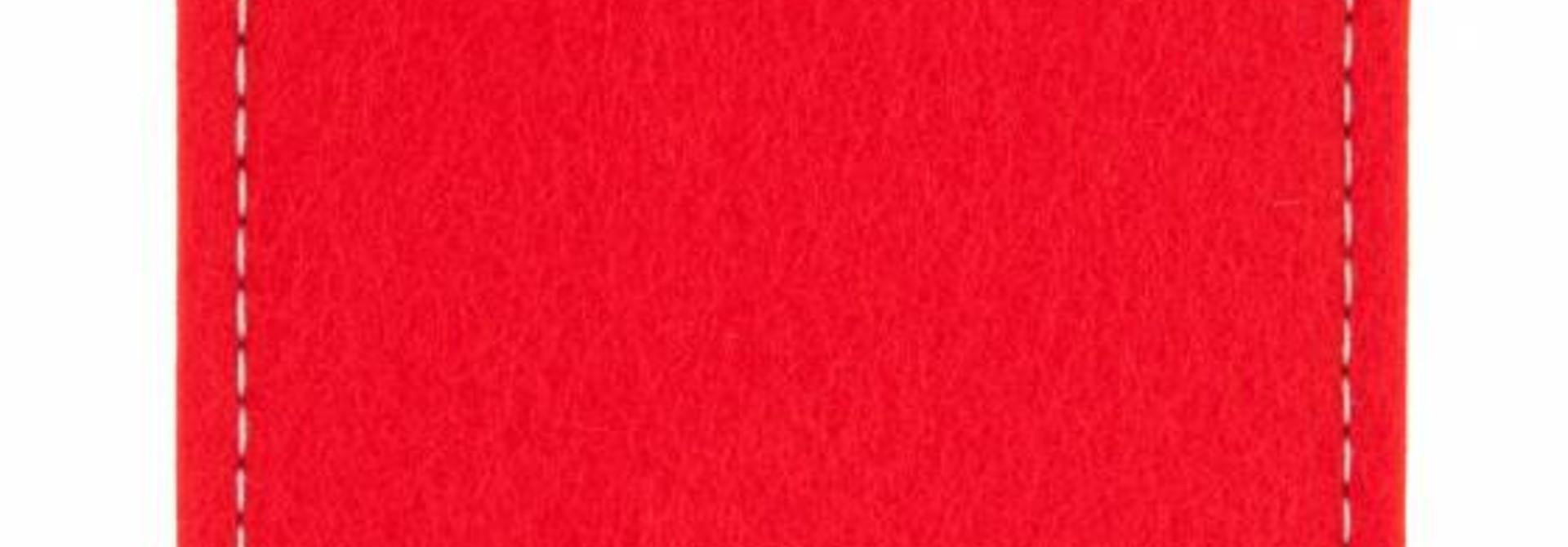 Pixel Sleeve Hellrot