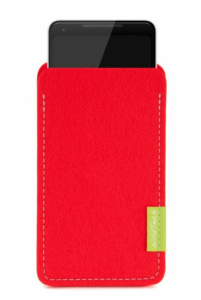 Pixel Sleeve Bright-Red