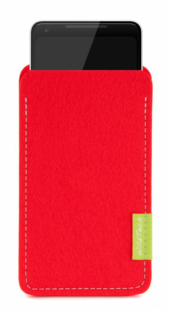 Pixel Sleeve Bright-Red-1