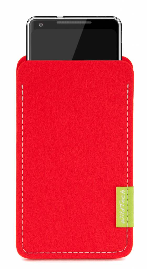 Pixel Sleeve Bright-Red-2