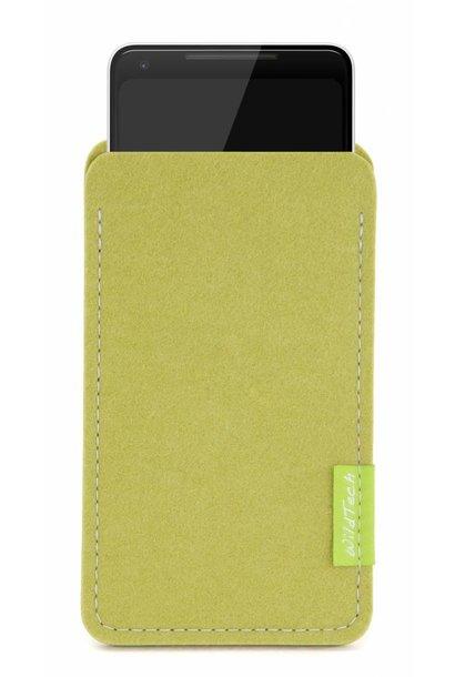 Pixel Sleeve Lindgrün