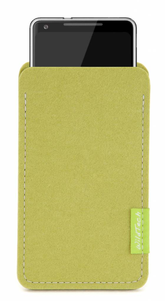 Pixel Sleeve Lime-Green-2