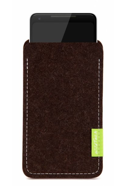 Pixel Sleeve Truffle-Brown