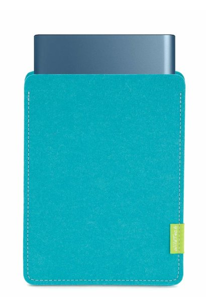 Portable SSD Sleeve Turquoise