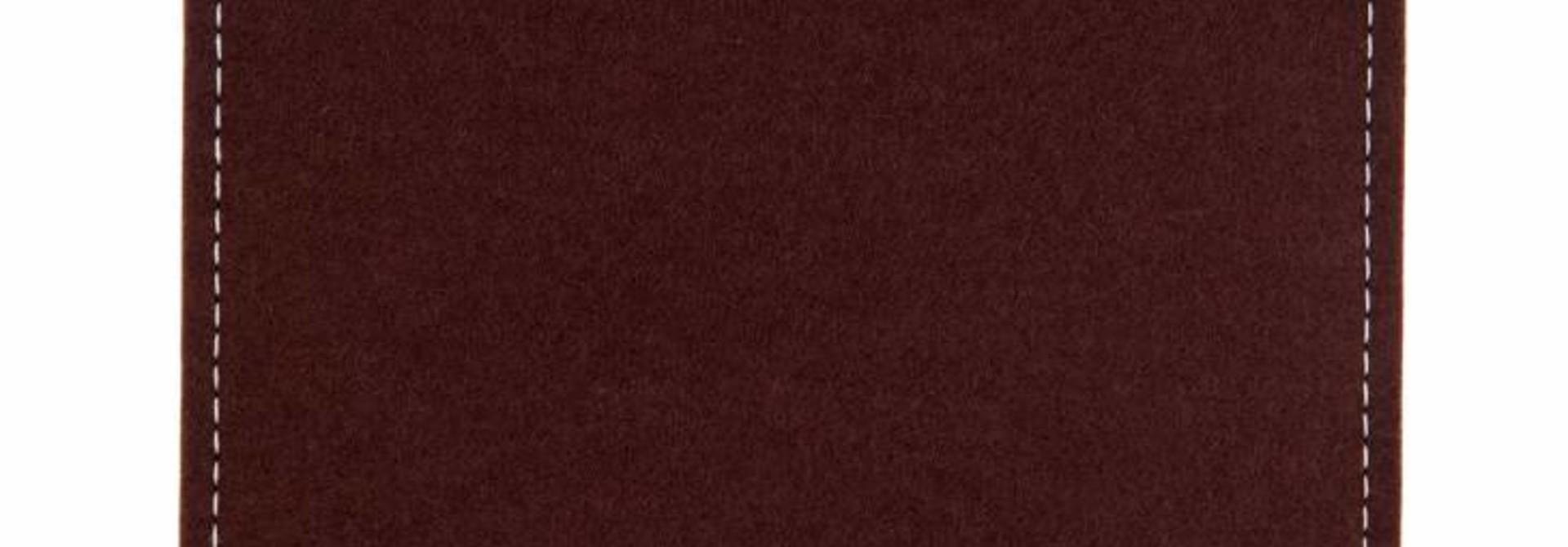Portable SSD Sleeve Dark-Brown