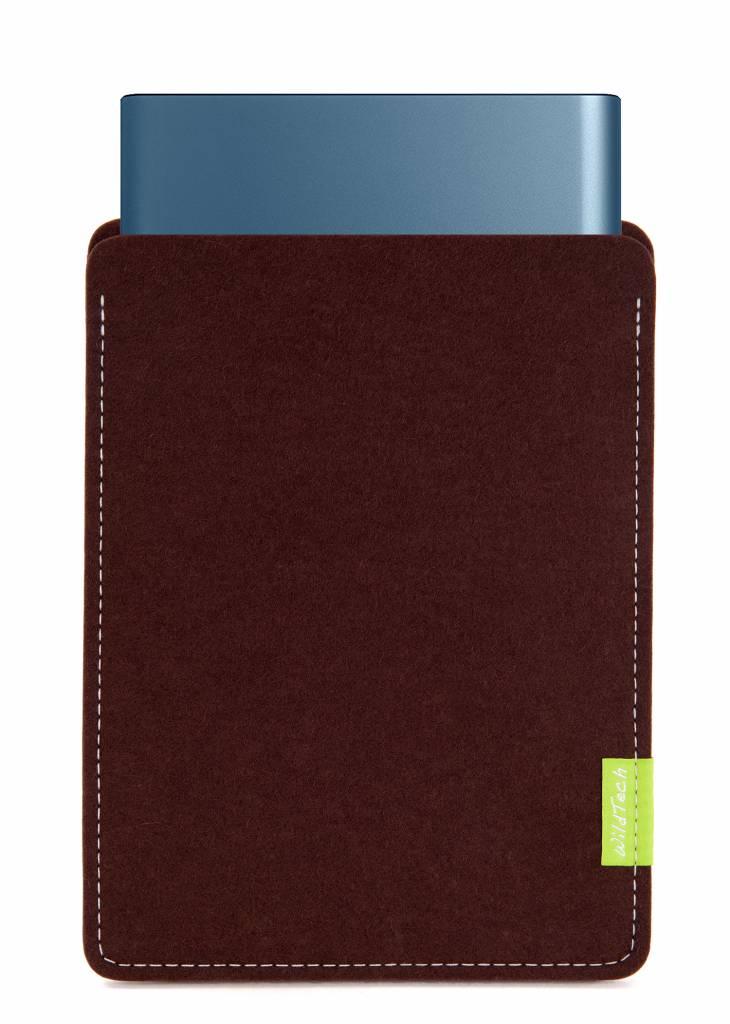 Portable SSD Sleeve Dark-Brown-1