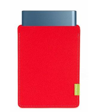 Samsung Portable SSD Sleeve Hellrot