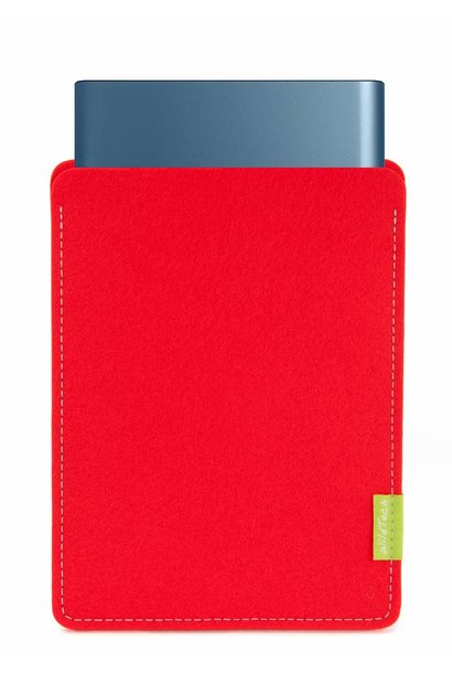 Portable SSD Sleeve Bright-Red