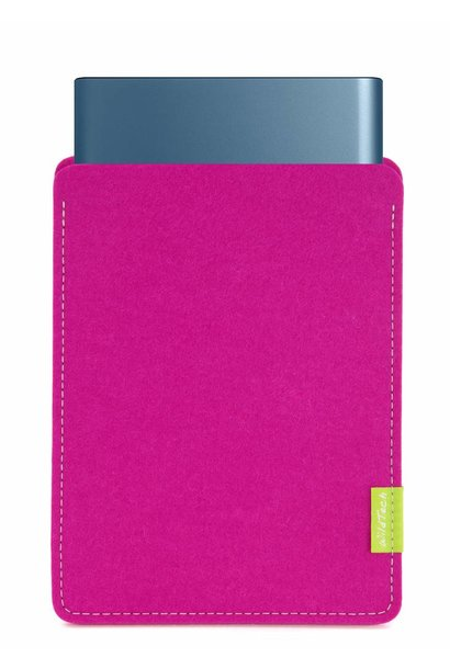 Portable SSD Sleeve Pink