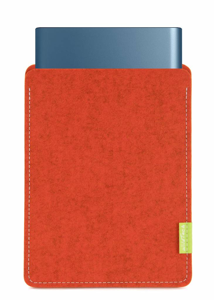 Portable SSD Sleeve Rust-1