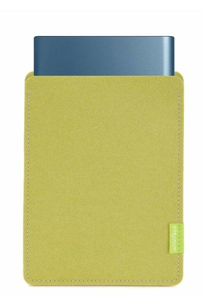 Portable SSD Sleeve Lindgrün