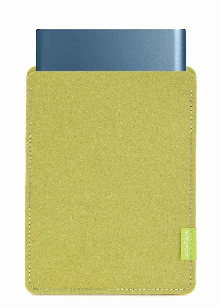 Portable SSD Sleeve Lime-Green-1
