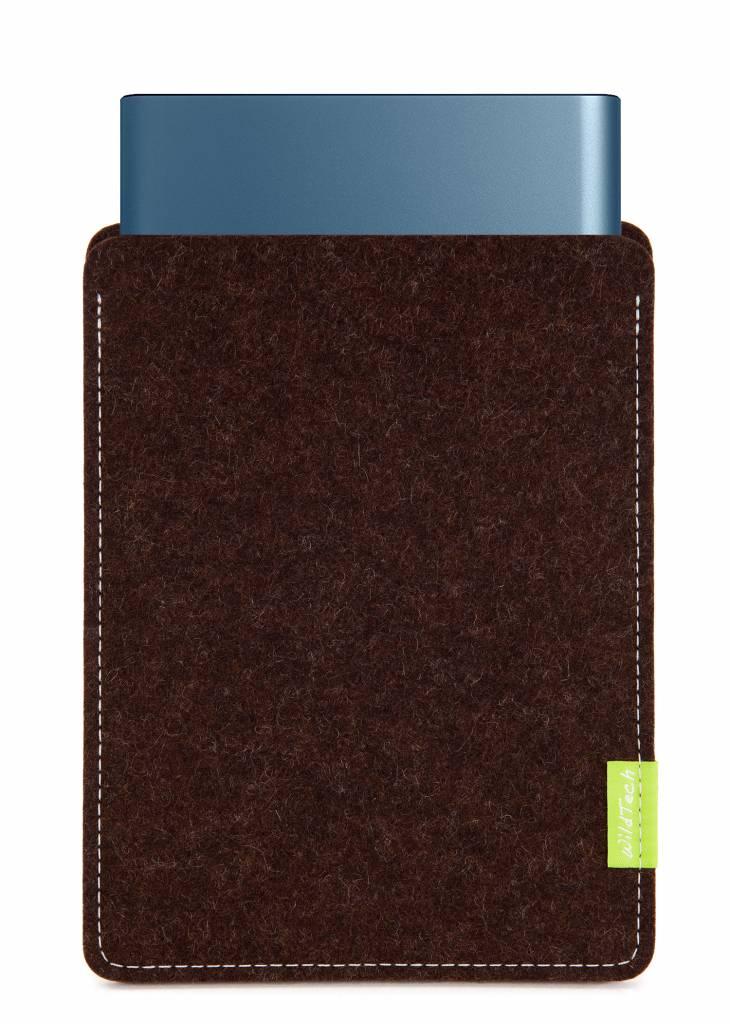 Portable SSD Sleeve Trüffelbraun-1