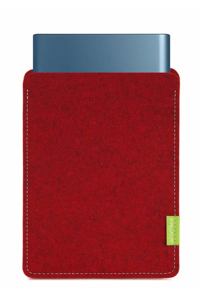 Portable SSD Sleeve Cherry