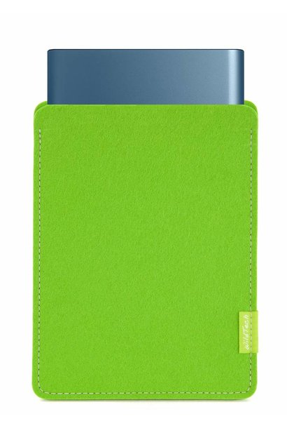 Portable SSD Sleeve Bright-Green