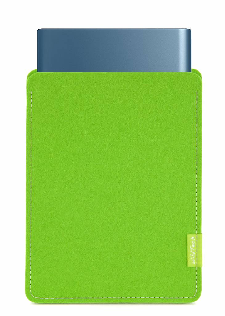 Portable SSD Sleeve Bright-Green-1