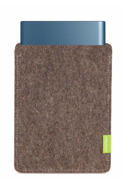 Portable SSD Sleeve Natur-Meliert
