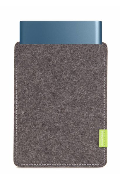 Portable SSD Sleeve Grey