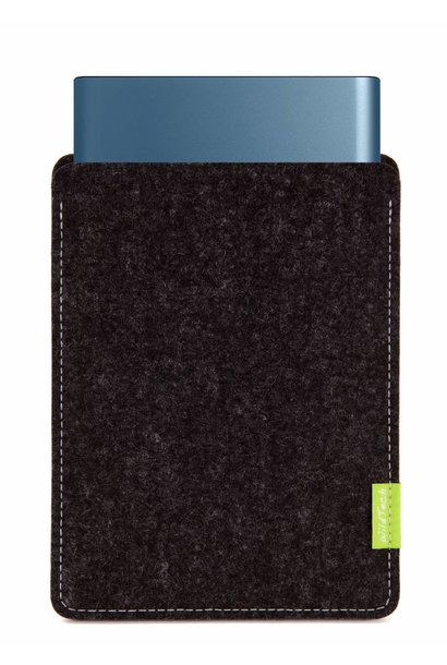 Portable SSD Sleeve Anthrazit
