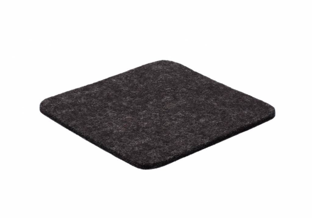 Anthracite felt coaster-1