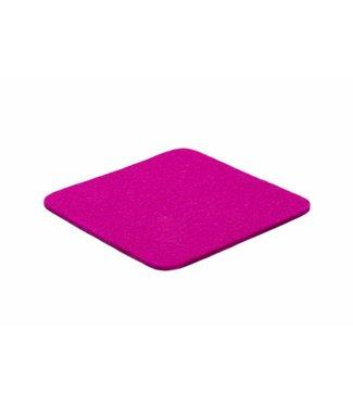 Pink Filz Untersetzer