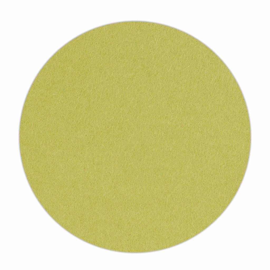 HomePod felt coaster Lime-Green-1