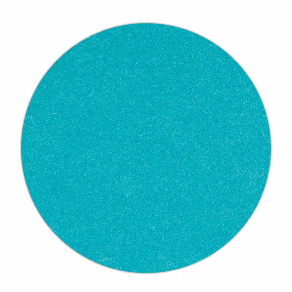 HomePod felt coaster Turquoise-1