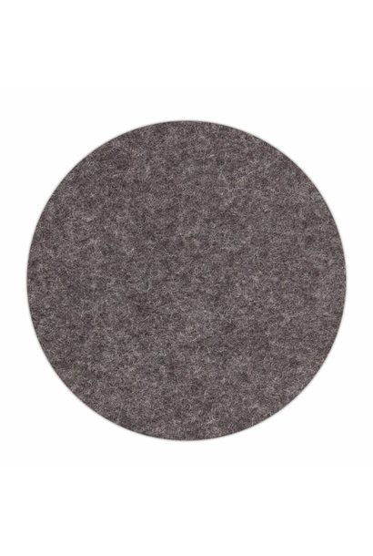 HomePod felt coaster Gray