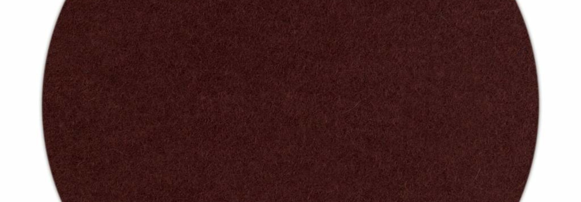 HomePod felt coaster Dark-Brown