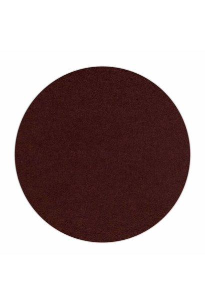 HomePod felt coaster Dark-Brown