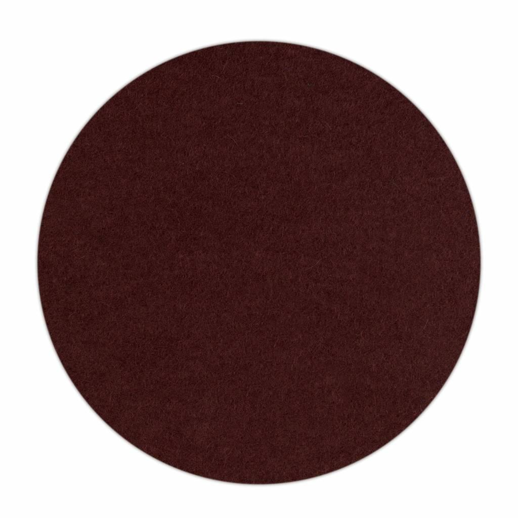 HomePod felt coaster Dark-Brown-1