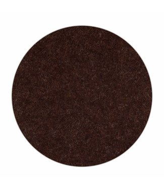 Apple HomePod felt coaster Truffle-Brown