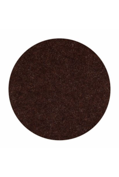 HomePod felt coaster Truffle-Brown