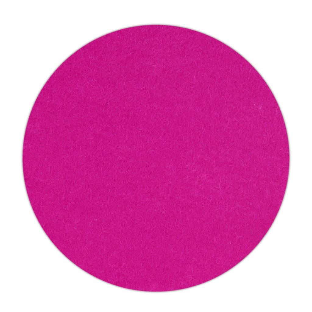 HomePod felt coaster Pink-1