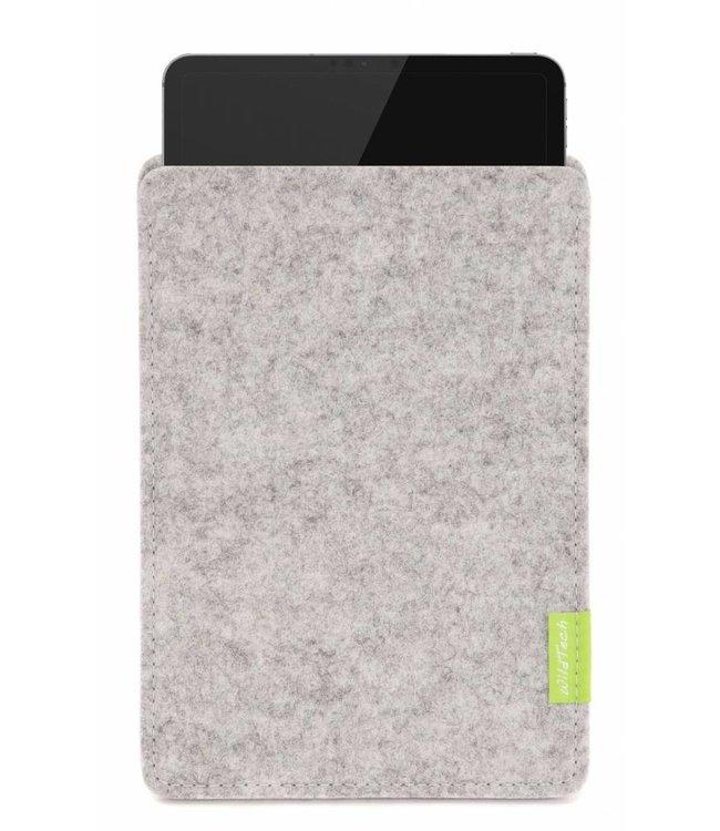 Apple iPad Sleeve Hellgrau