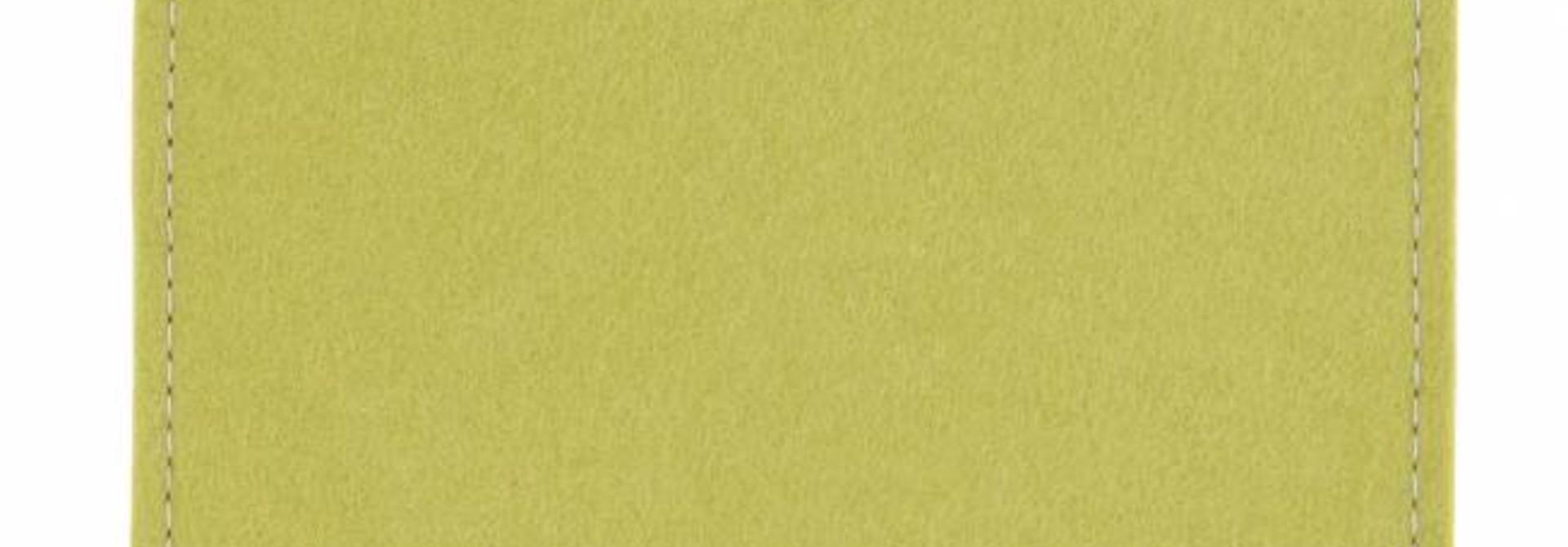 iPad Sleeve Lindgrün