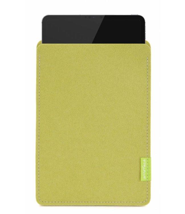 Apple iPad Sleeve Lindgrün