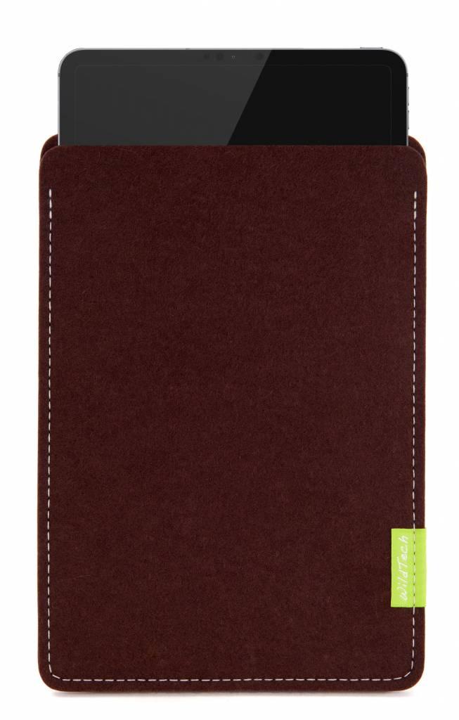iPad Sleeve Dunkelbraun-5